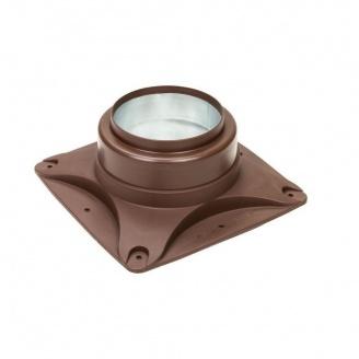 Основание вентилятора VILPE E120 S 250х250 мм коричневое