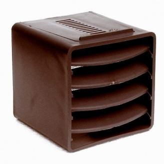 Вентиляционный куб VILPE 85х85х85 мм коричневый