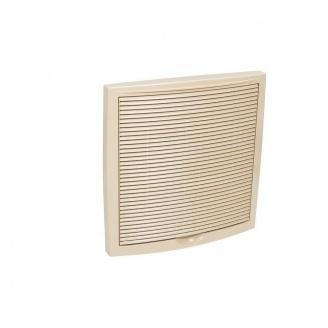 Зовнішня вентиляційна решітка VILPE 375х375 мм бежева