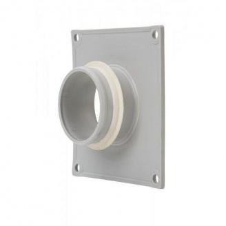 Фланець вентиляційної решітки VILPE 60 мм світло-сірий