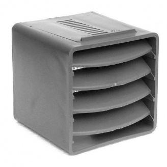 Вентиляционный куб VILPE 85х85х85 мм светло-серый