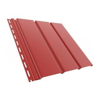 Софит BRYZA гладкий 4000х305 мм красный