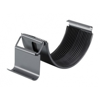Соединитель желоба Прушиньски Niagara 110 мм серый