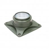 Основание вентилятора VILPE E120 S 250х250 мм зеленое