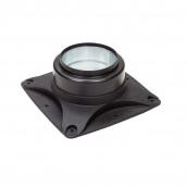 Основание вентилятора VILPE E120 S 250х250 мм черное