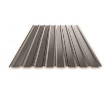 Профнастил Ruukki Т15 Pural Matt фасадный 13,5 мм темно-коричневый