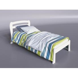 Дерев'яне ліжко Айріс-міні Sentenzo 800х1900 мм біла