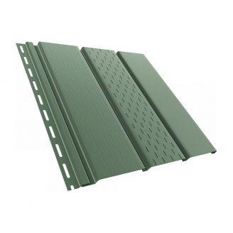 Софит BRYZA перфорированный 4000х305 мм зеленый
