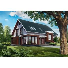 Будівництво каркасного будинку проект Геліос 236,8 м2