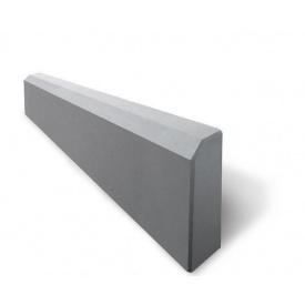 Садовый бордюр 500х200х43 мм серый