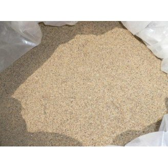 Кварцевый песок в мешках
