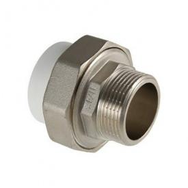 Муфта прямая разъемная резьба наружная 25х3/4 мм