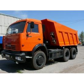 Перевезення щебеню самоскидом Камаз 65115 12 м3