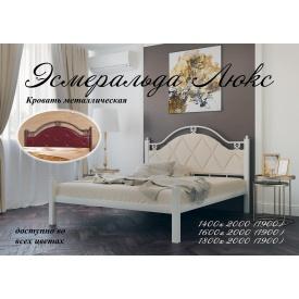 Кровать Эсмеральда-Люкс Металл-Дизайн 1400х2000 мм белая