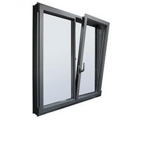 Окно из холодного алюминия HOFFMANN 45 1300х1400 мм