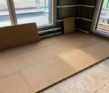 Звукоизоляция из древесного волокна Insulen 1350*600*30 мм