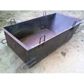 Ящик для раствора и бетона 2 куба