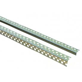 Уголок перфорированный Masterplast Стандарт 36х36 мм 2,5 м