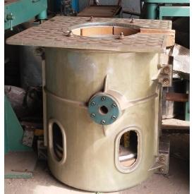 Электро печь для литья по выплавляемым моделям KPS 160 кВт 250 кг
