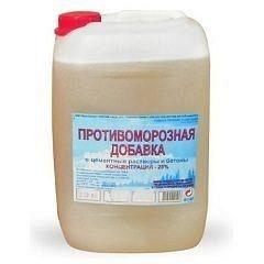 Протиморозні добавки в бетон