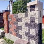 Блок забірний Рваний камінь кольоровий 19х10х39 см