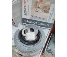 Теплый пол Grayhot кабель двухжильный 10 м2 102 м с регулятором