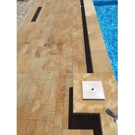 Камень-песчаник для борта бассейна 500х330 мм