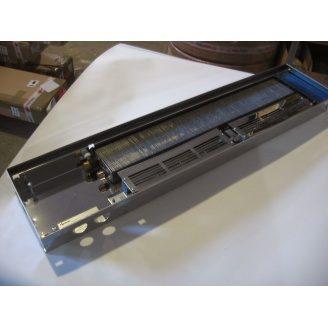 Внутрипольный конвектор с вентилятором POLVAX KV 230х3000х78 мм