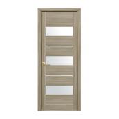 Двери межкомнатные Новый Стиль МОДА Лилу со стеклом 800х2000 мм сандал