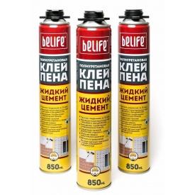 Клей-пена профи BeLife 850 мл жидкий цемент