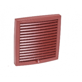 Наружная вентиляционная решетка Vilpe 150x150 мм