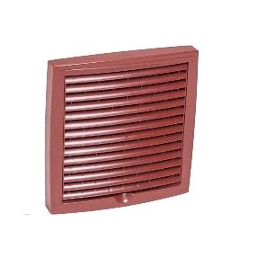 Зовнішня вентиляційна решітка Vilpe 150x150 мм