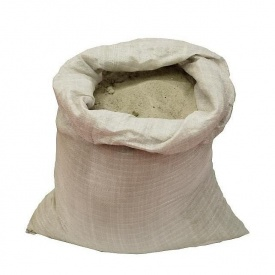 Пісок річковий в мішках 50 кг