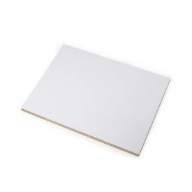 МДФ ламинированная с одной стороны 2800х2070х16 мм белая