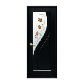 Двери межкомнатные Новый Стиль МАЭСТРА Прима со стеклом 700х2000 мм венге
