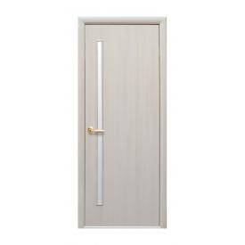 Двери межкомнатные Новый Стиль КВАДРА Глория 800х2000 мм дуб жемчужный