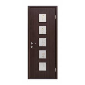 Двери межкомнатные Новый Стиль КВАДРА Р Фора №3 600х2000 мм венге