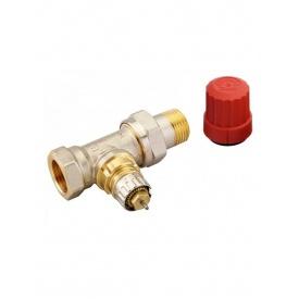 Клапан прямої Danfoss RA-N 15 для двотрубної системи опалення нікель 013G0014