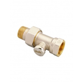 Клапан запірний прямий Danfoss RLV-S 20 нікель 003L0126