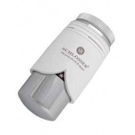 Термостатическая головка Schlosser BRILLIANT SH белая/хром