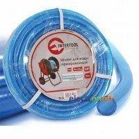 Шланг для води 3-х шаровий 1/2 дюйма 50 м армований PVC GE-4056 Intertool