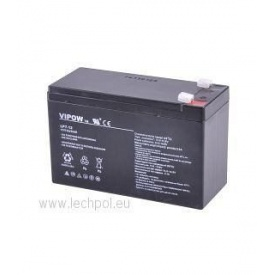 Акумулятор гелевий ВIPOW 12 В 7,0 Ah