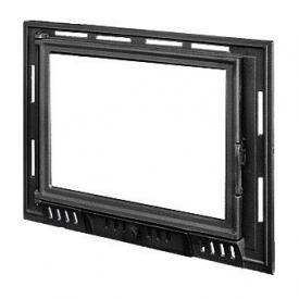 Дверца для камина KAWMET W6 с прямым стеклом 685х515 мм