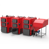 Твердотопливный котел Ретра 4М Combi 98 кВт
