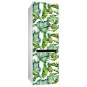 Інтер'єрна наклейка на холодильник Uzuri Ананаси 600х2000 мм