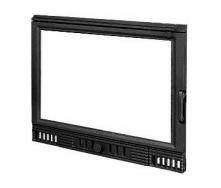 Дверца для камина KAWMET W1 с прямым стеклом 680х530 мм