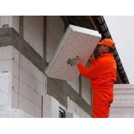 Утеплення під ключ пінопластом 10 см фасад з мінерального короїда