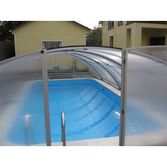 Раздвижной павильон для бассейна Albion Klasik B 8-4 860х470/428х130 см