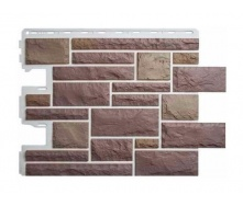 Фасадна панель Альта-Профіль Камінь Празький 795х591х20 мм колір 03