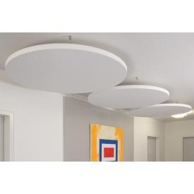 Подвесной акустический потолок AMF TOPIQ Sonic Element круглый 40х1200 мм белый